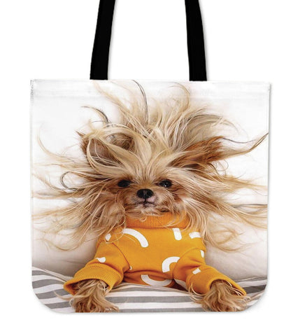Yorkie Wild Child Tote