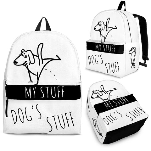 Backpack - Dog's Stuff | My Stuff 2