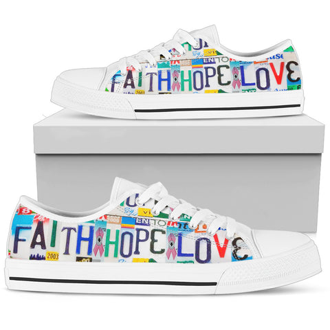 Faith Hope Love Low Top