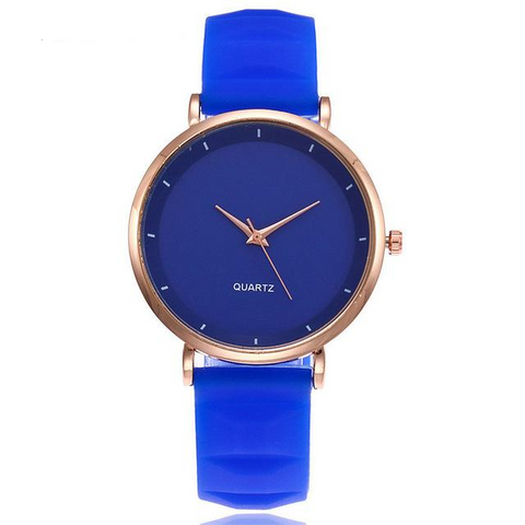 FREE Women's Silicone Jelly Luxury Watches