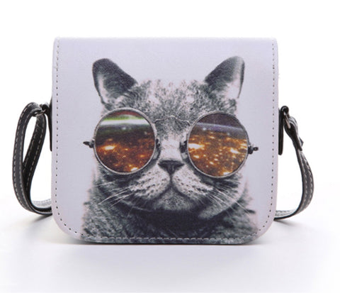Women Leather Cat Handbag - Free Plus Shipping Promotion