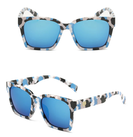 Tiger Head Mirror Fashion Sunglasses