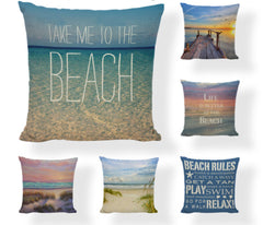 FREE BEACH PILLOW COVERS