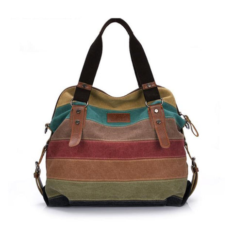 Women Fashion Casual Canvas Handbag