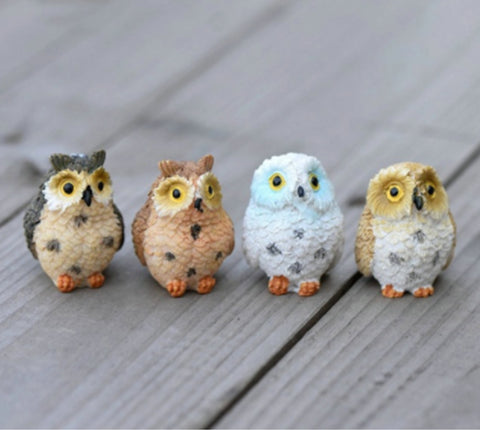 Owl Mini Home Decoration (2Pcs/sets)