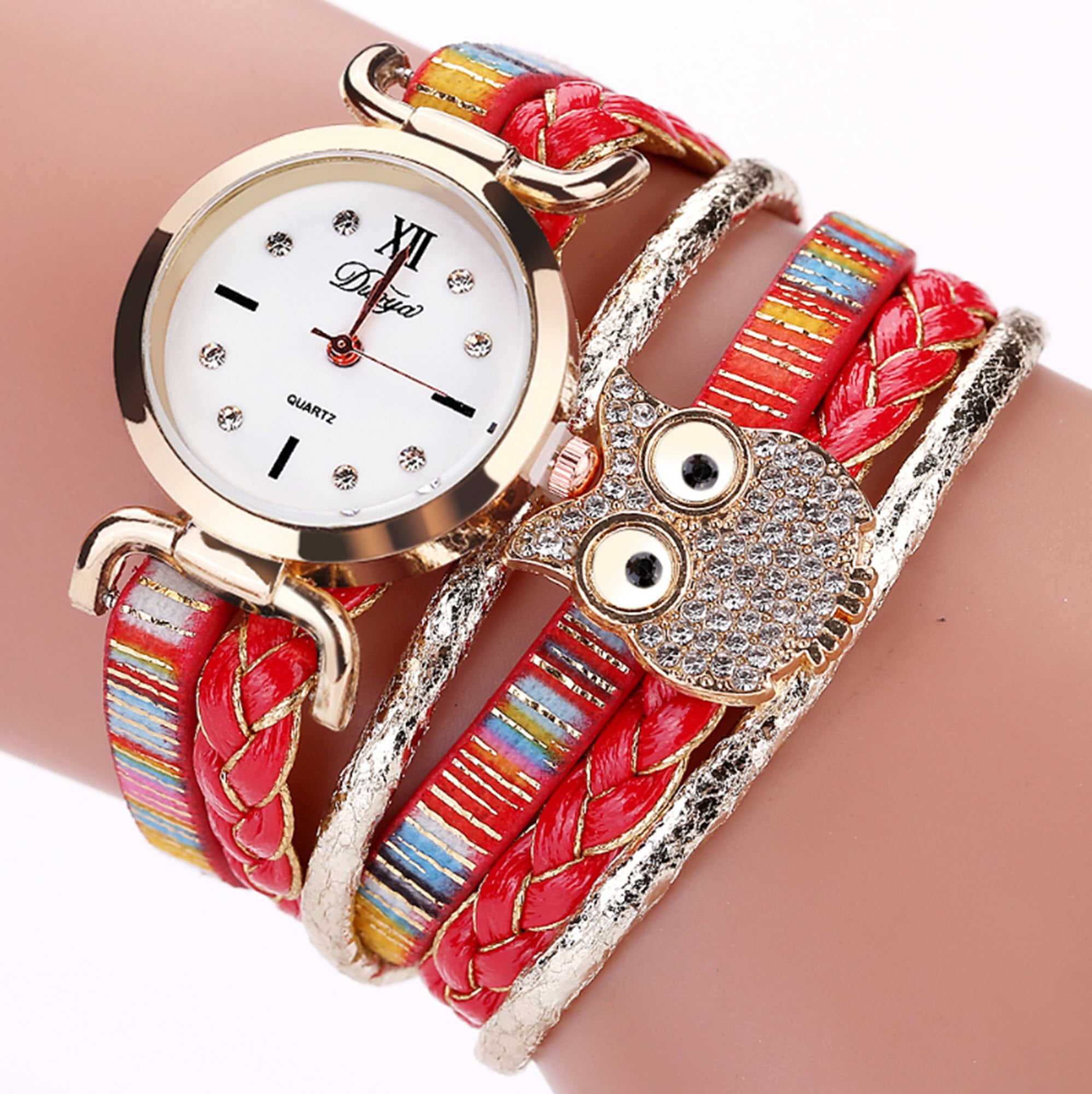 Owl Vintage Handmade Quartz Watch