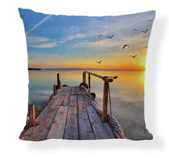 Beach Pillow Covers