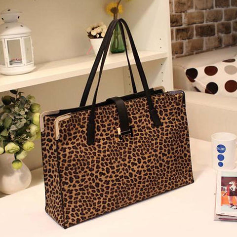 New Fashion High Quality Leopard Handbag