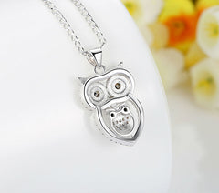 FREE Love Owl Mother And Child Pendant Necklace