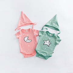 FREE 2pcs Lovely Baby Rompers Set
