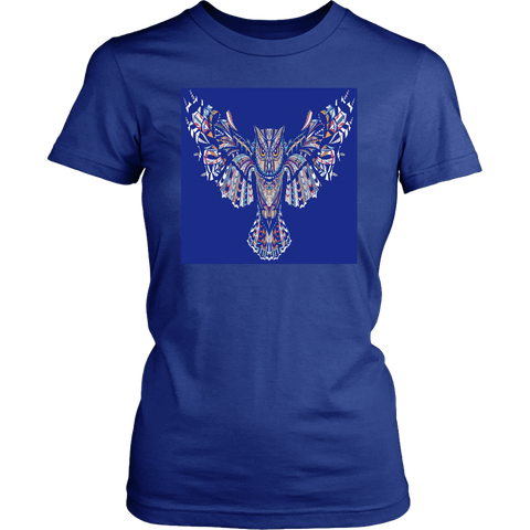 Fierce Owl Blue Tees