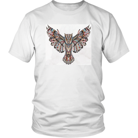 Fierce Owl White Tees