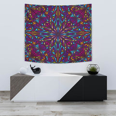 Triangle Kaleidoscope Tapestry