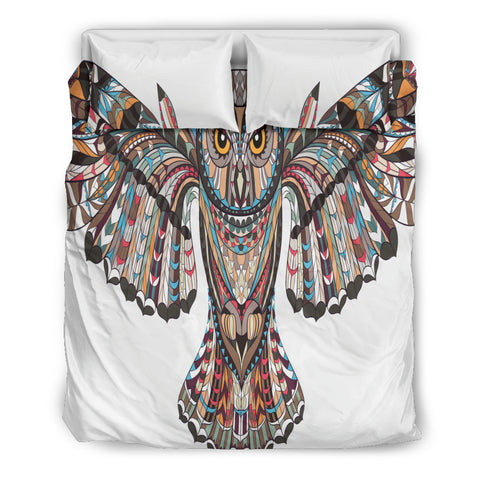Fierce Owl Bedding Set