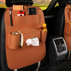 Car Backseat Bottle Holder Storage Organizer