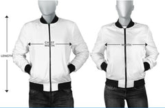 BW Abstract Men's Bomber Jacket