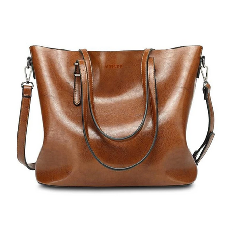 Casual Tote Leather Shoulder Bags