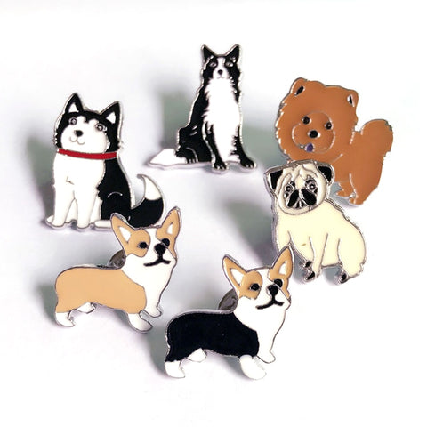 Dogs Fashion Brooches