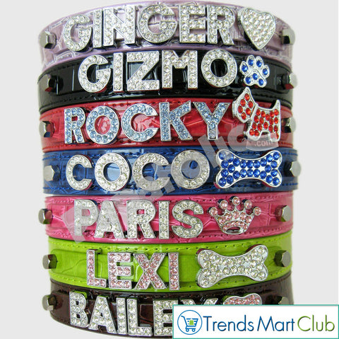 Dog Cat Pet Personalized Collar - XS, S, M, L, XL