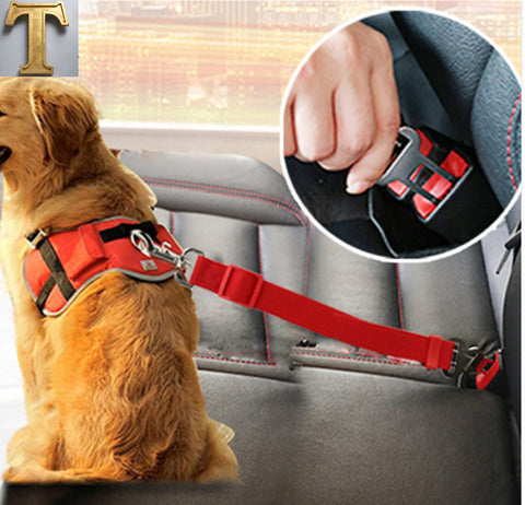 Dog Car Seat Belt Safety Leash