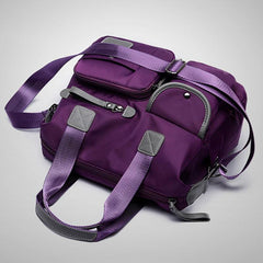 Women Waterproof Nylon Travel Shoulder Bags