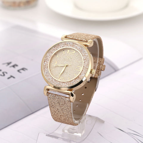 FREE Women Luxury Crystal Watches