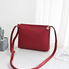 Women High Fashion Leather Crossbody Handbag