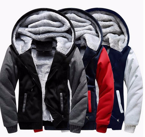 Winter Thick Bomber Jackets
