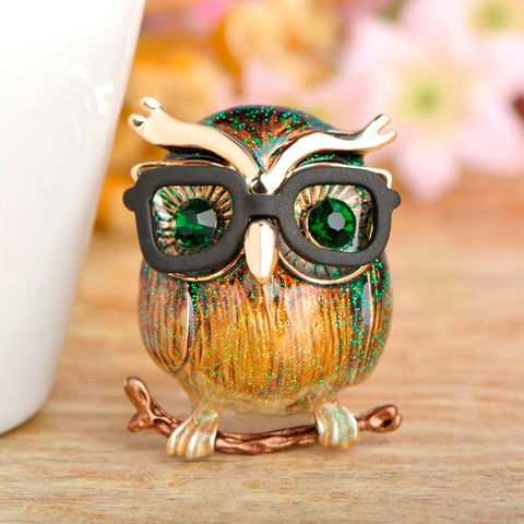 Free Kawaii Owl Brooch