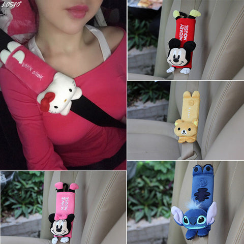 Cute Cartoon Car Safety Seat Belt Cover