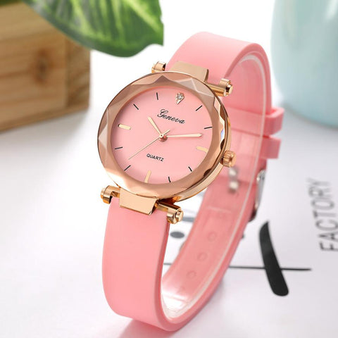 FREE Women Luxury Glass Watches