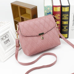 Women Small Long Strap Clutch Handbags