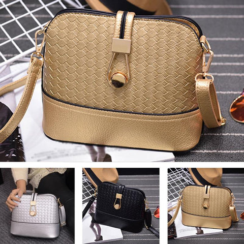 New Ladies Fashion Braided Women Shoulder Bag