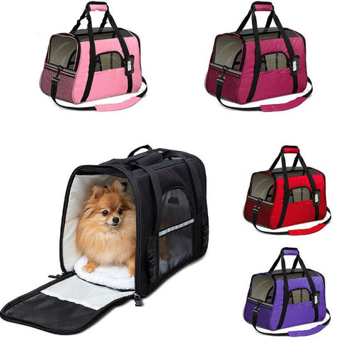 Cat Dog Pet Carrier Travel Comfort Bag
