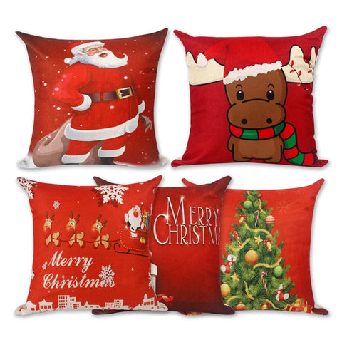 Christmas Decor Pillow Covers