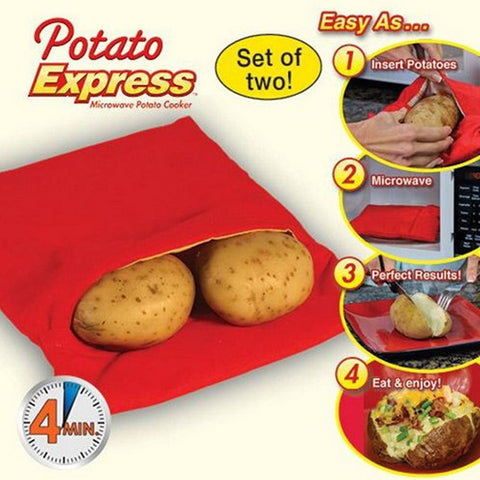 Microwave Baking Potato Cooking Bag