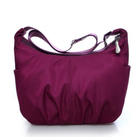 FREE Women Nylon Waterproof Travel Handbag