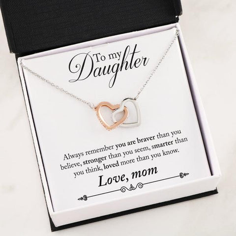 [Exclusive] To My Daughter Necklace