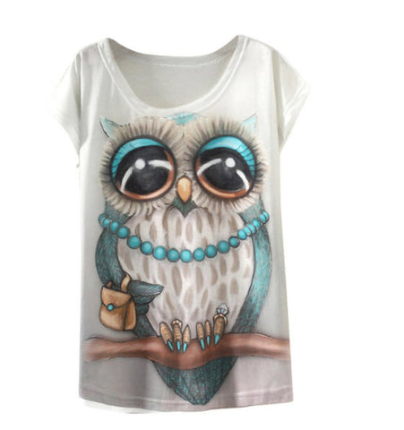 Love Owls Women T-shirt