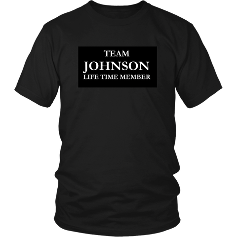 Team Johnson Tee