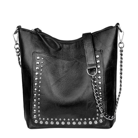 Women Studded Casual Handbags