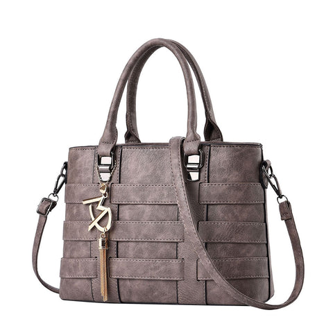 Women's Fashion Vegan Leather Shoulder Bags