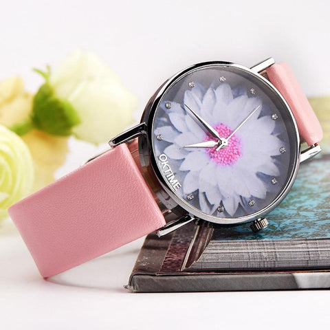 FREE Women's Flower Fashion Quartz Watches