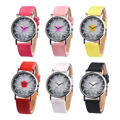 Women's Flower Fashion Quartz Watches