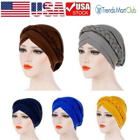 Women Braid Head Wrap