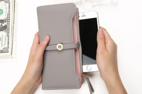 Women Top Quality Leather Fashion Wallet