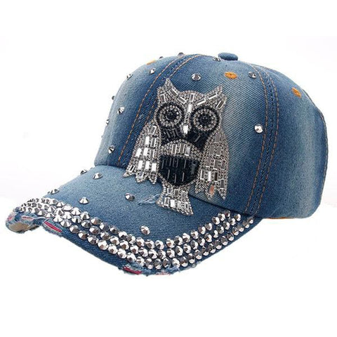 Owl Fashion Vintage Baseball Cap