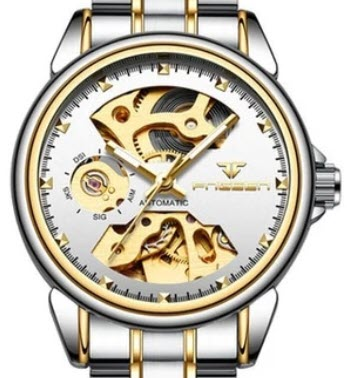 Women Mechanical Skeleton Watch
