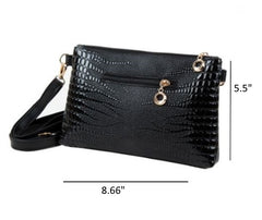 Women's Chic Leather Crossbody Handbag