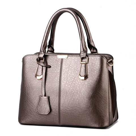 Women Leather Top-Handle Handbags